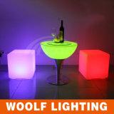 Mesa de café com LED RGB