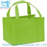 Cheap promotionnels personnalisés tissu laminé Fold-Able Eco fourre-tout sac shopping Non-Woven, recyclables PP Non