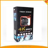 Tela de toque câmara Acção 4K Sports