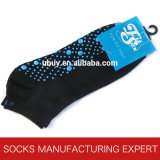 Baumwollgleitschutzyoga-Socke 100%