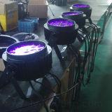 La PARITÉ imperméable à l'eau de RoHS 18X18W RGBWA+UV de la CE peut éclairage extérieur de DEL