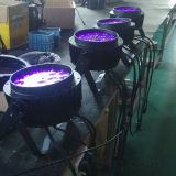 Het waterdichte PARI 18X18W RGBWA+UV kan LEIDENE OpenluchtVerlichting
