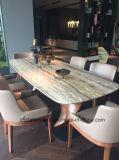 Eettafel van het Meubilair van het huis de Natuurlijke Marmeren Houten