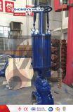 Válvula de puerta industrial neumática del acero de bastidor del API