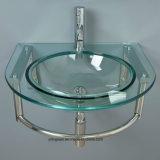 Painel de vidro temperado para lavatório