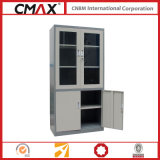 Armadietto di Full Height del casellario con Glass Swing Door Cmax-Sc006