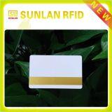 Cartão personalizado elegante da tira magnética do PVC Hico / Loco do tamanho
