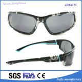 Óculos de sol plásticos do frame do OEM da amostra livre com teste padrão de esqueleto fresco