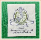 Étiquette tissée par textile fait sur commande