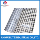 En fibre de verre recouvert de bitume géogrille pour le renforcement de la chaussée asphaltée 100knx100kn