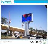 Visualizzazione di LED fissa esterna dell'installazione di Nse P6 per fare pubblicità
