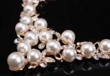 Insiemi nuziali simulati eleganti dei monili della perla