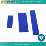 Étiquette imperméable à l'eau de blanchisserie de silicone de la fréquence ultra-haute RFID de l'étranger H3