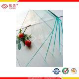 Folha contínua transparente de policarbonato sólido policarbonato