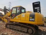 Excavador usado maquinaria original de Japón KOMATSU PC200-7