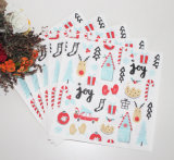 Navidad del hombre de la categoría alimenticia Impreso servilleta de papel personalizado