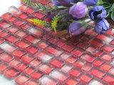 Red Edge agrietado cristal del mosaico del arte (CFC325)