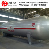 40tons LPG 탄알 가스 저장 탱크 80cbm에 의하여 이용되는 LPG 가스 탱크
