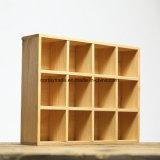 Caixa de madeira Custom-Made Partição com caixa de exibição de madeira madeira Caixa de oferta