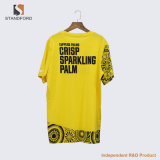 공장 t-셔츠를 광고하는 싼 주문 인쇄 로고 t-셔츠