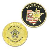 Environnement personnalisé de la protection de souvenirs d'or Coin Silver Eagle souvenir en métal