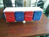 Het grote Zonne Opvlammende Licht van de Grootte met Rode en Blauwe leiden