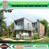 Maisons préfabriquées de vestiaire de plage de conteneur d'immeuble avec solaire