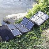 Sunpower que dobra o carregador solar 140W para acampar