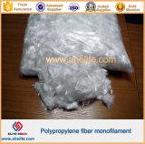 ポリプロピレンの単繊維のステープルファイバ