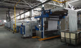 Designed europeo Structure Stenter Machine per Woven Fabric