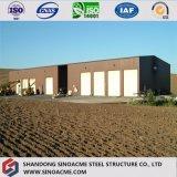 Fabricante claro profissional do armazém da construção de aço para África