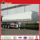 Tri-Axle 42МУП углеродистой стали частично топливные автоцистерны прицепа