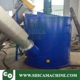Überschüssige Plastikflasche blättert Dampf-Heizungs-Maschine für waschende Plastikzeile ab