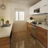 Современный дизайн ламинированные деревянные кухонной мебели