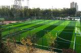 Resistente al fuego verde campo de fútbol de césped artificial moqueta