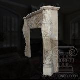 중대한 질 고전적인 손 - 새겨진 대리석 벽난로 조각품