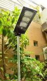 9W-a tutto in un indicatore luminoso di via solare con il sensore di movimento