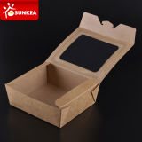 Wegwerfbares Paper chinesisches Food Container mit Window