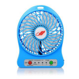 Portable Batería recargable de Li-ion Mini Ventilador F95b con luz LED