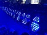 Großhandels54pcsx3w RGBW 4in 1 LED-NENNWERT kann beleuchten (nicht imprägniern)