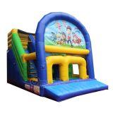 Caricatura de diapositivas inflables inflables/Saltar bouncer para la venta Chsl684