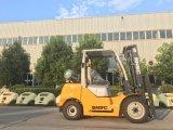 Logistique Forklifters levages de fourche de pouvoir de gaz de chargement de 3.0 tonnes