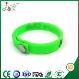 Wristband del silicone, braccialetto di gomma per gli adulti e capretti