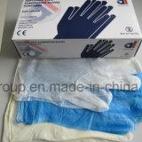 使い捨て可能なカスタマイズされた病院手の粉の自由にビニールの手袋