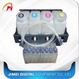 Mutoh Mimaki 용매 인쇄 기계를 위한 대량 시스템 4 색깔 잉크 탱크 시스템 또는 지속적인 잉크 보급 체계