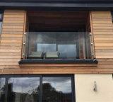 Haute qualité français 17.52mm /Balcon romantique balustrade/clôture/Balustrade verre