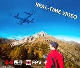 1498805c-6-Axis il ronzio di ritorno WiFi di immagini in tempo reale RC Fpv Quadcopter della girobussola 2.4G 4CH con la macchina fotografica 0.3MP Un-Preme il ritorno