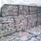 Galvanisierter geschweißter Maschendraht Gabion Kasten für Steingebäude