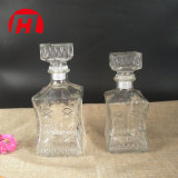 Decantador de diseño de cristal de la moda Vintage Botella de vino de cristal