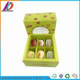 Recycable quadratisches Papier-Biskuit-Kasten für das Verpacken 6PCS